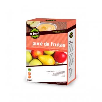 Puré de Frutas Maça e Pêra
