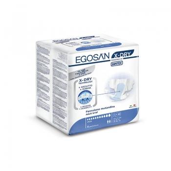 Fralda Egosan X-Dry Tamanho M